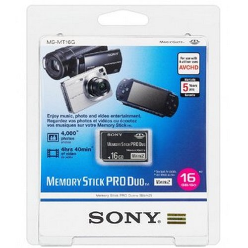 Buy Sony Memory Stick Pro DUO [16 GB] in India at the best price